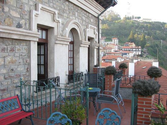 Lastres, Spain: Terrace