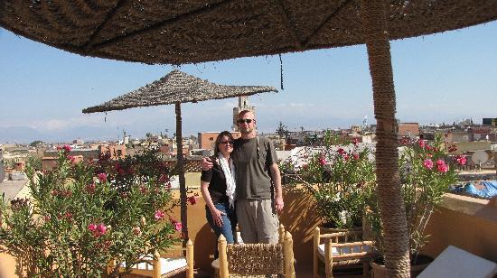 Dar Hanane: On the terrace