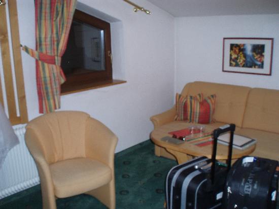 Apart-Hotel-Garni Bäckerei Strasser: Sitting area