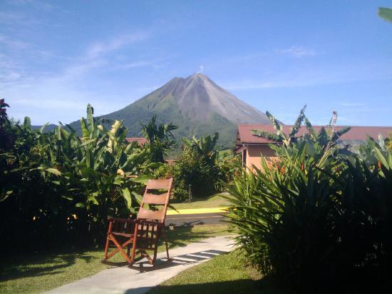Arenal Volcano National Park, Costa Rica: View from my hotel room