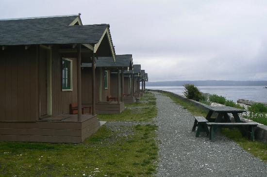 Cama beach cabins picture of cama beach state park for Washington state park cabins