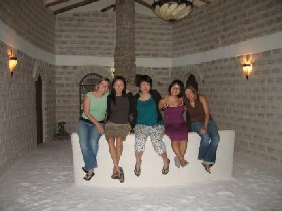 Cristal Samana Salt Hotel: Nubia, Clarissa, Gloria, Louise!