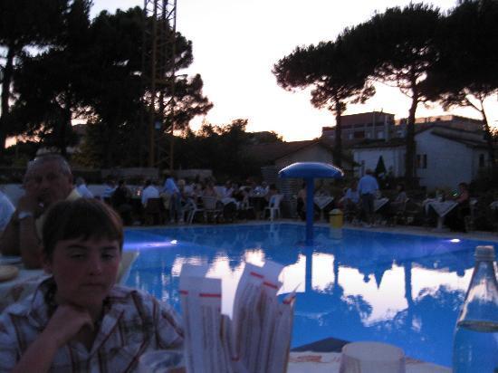 Hotel Buratti: Le soir