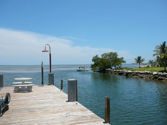 Seascape Motel and Marina: Dock view