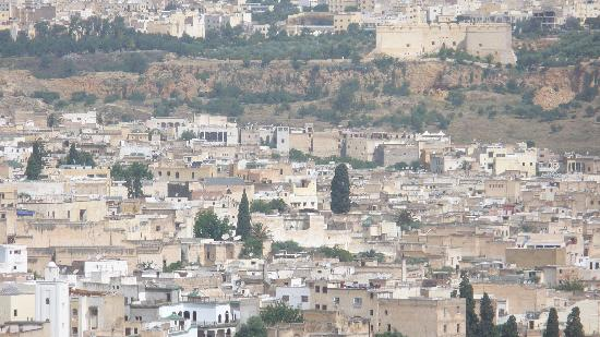 Fes, Morocco: View of Old medina