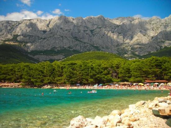 Makarska, Croatia: la spiaggia