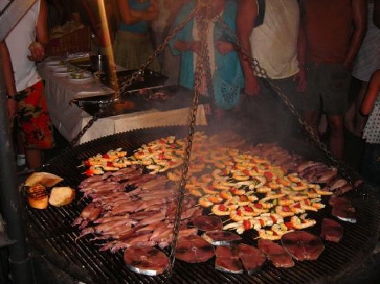 Makarska, โครเอเชีย: la festa dei pescatori