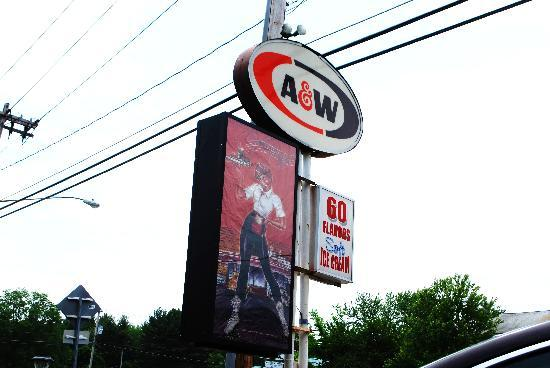 A & W Root Beer Drive-In: A nd W