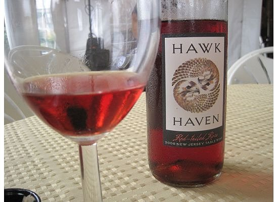 Hawk Haven Vineyard and Winery: Hawk Haven's Red Tailed Rose