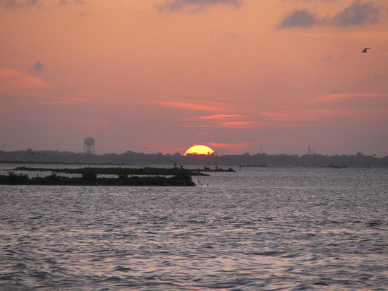 Cancun Grill and Cantina: Port Aransas sunsets are hard to beat.