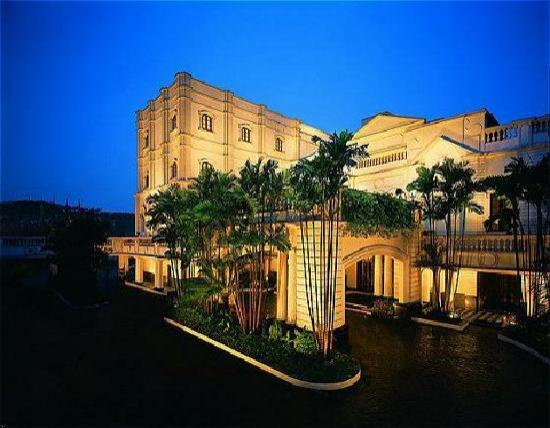 The Oberoi Grand: from outside