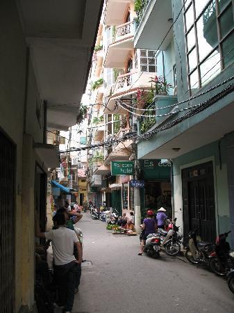 Especen Hotel: Hotel street