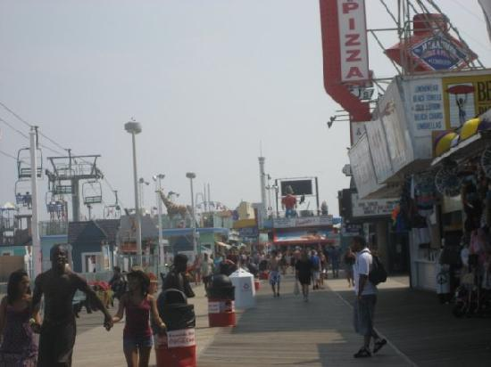 Seaside Heights, Νιού Τζέρσεϊ: boardwalk