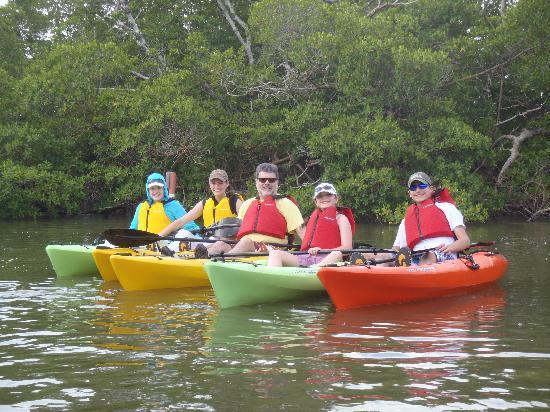 Up a Creek Kayak Tours: Family Kayak Line Up!
