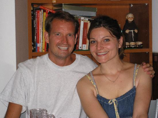 My Rome Guides: Antonella and I on my last night in Rome...