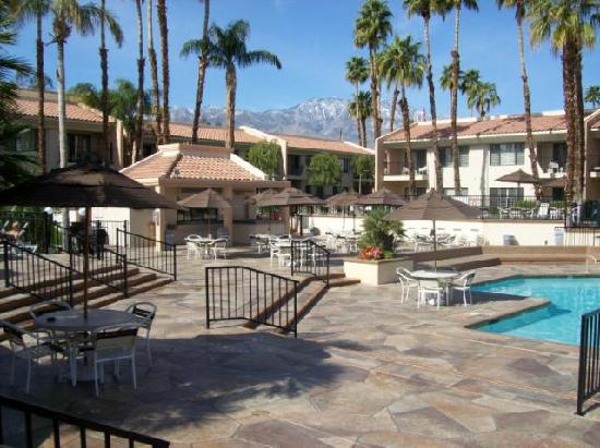 Welk Resorts Palm Springs: One of two pools and surrounding villas