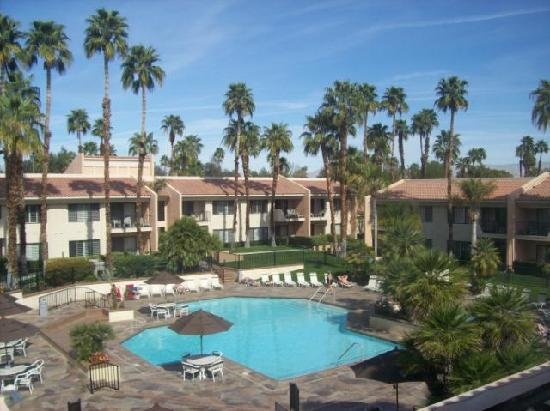 Welk Resort Palm Springs - Desert Oasis: One of two pools and surrounding villas