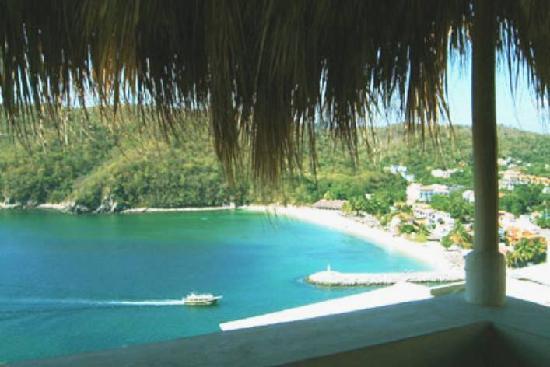Fandango Suites: vista a la bahia de Santa Cruz