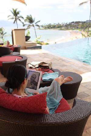 Four Seasons Resort Maui at Wailea : Swimming pool to the ocean