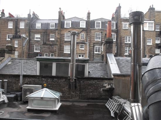 Lincoln House Hotel: view from the window