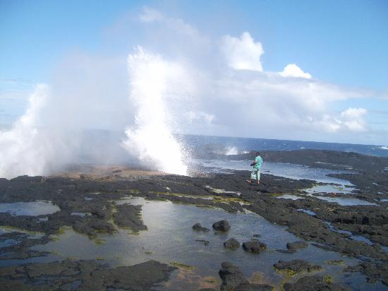 The Savaiian Hotel: Blowholes are one of Savaii's natural beauty