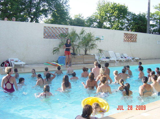 Saint-Georges-de-Didonne, France: cours d'aquagym