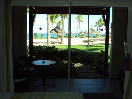 Tamassa Resort: View from inside our room