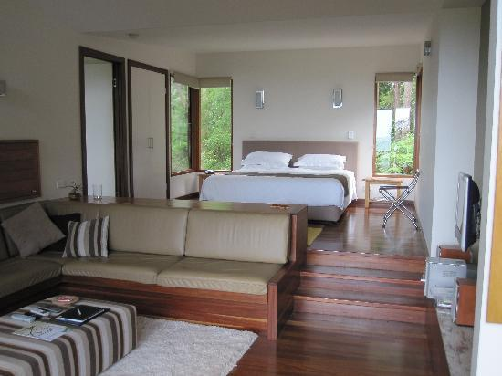 Montville Oceanview Cottages: Bedroom
