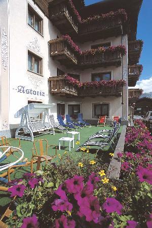 Hotel Astoria: Giardino