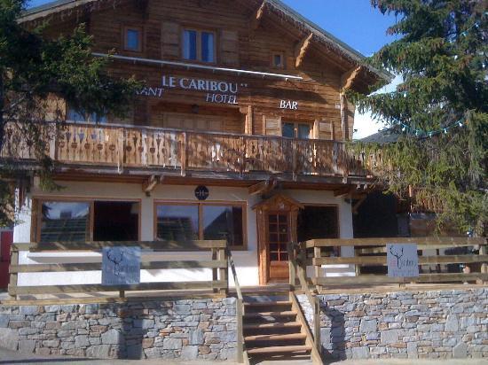 Hotel le Caribou : vue générale