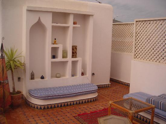 Bouznika, Morocco: petit coin tranquillo