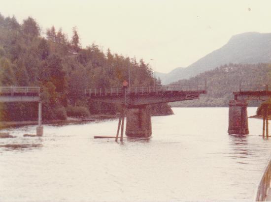 Dalen i Telemark: Ponte girevole