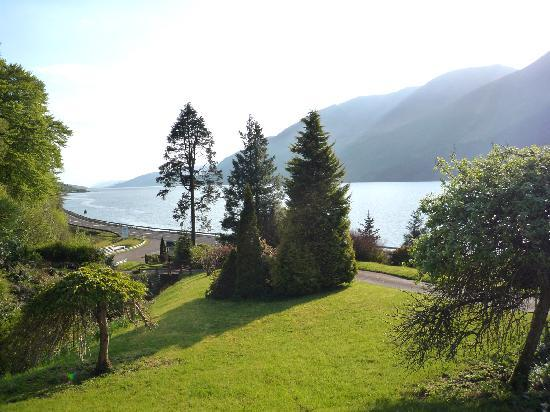 Corriegour Lodge Hotel: View fron dining room