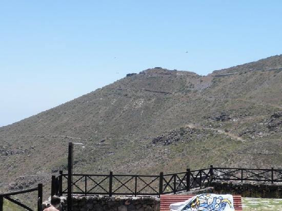 Casa Vera de la Hoya: Vistas desde la terraza-piscina