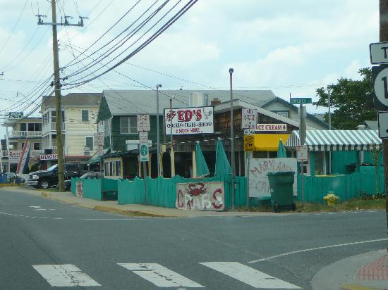 Dewey Beach, DE: Extreior of Ed's Crabs
