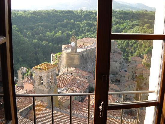 Hotel della Fortezza: Vista Camera