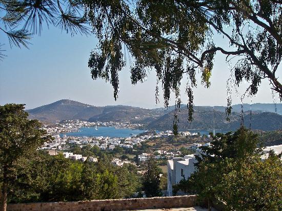 Pátmos, Griechenland: Vista panoramica