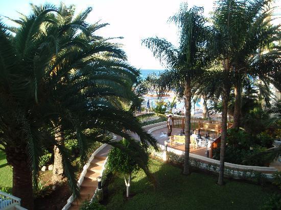 Sunwing Arguineguin Seafront: view from our veranda