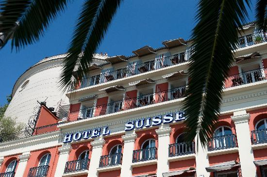 Hotel Suisse: Front of the building