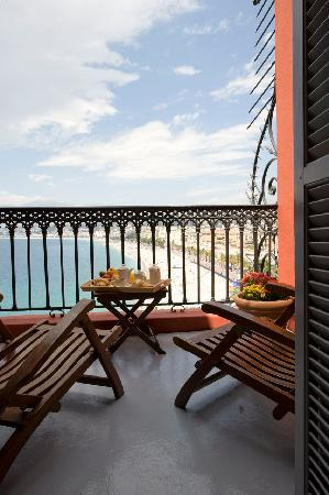 Hotel Suisse: Terrace of the Suite