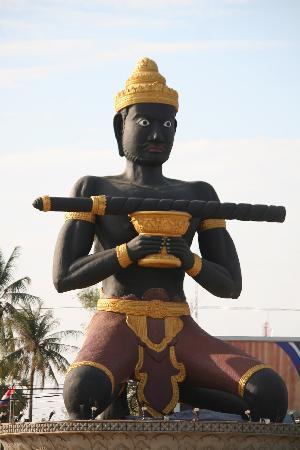 Spring Park Hotel: Symbole de Battambang