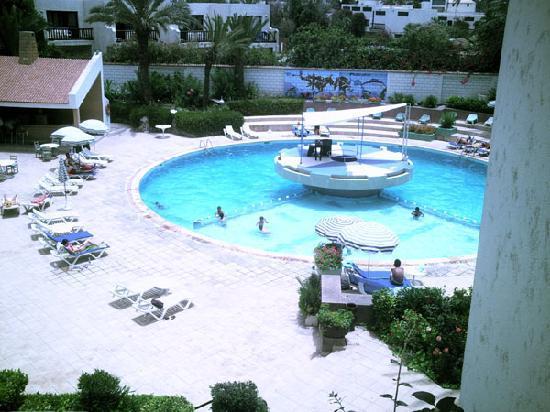 Hotel Adrar : la piscine