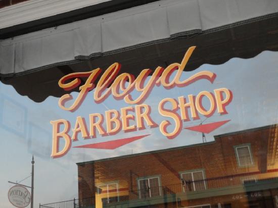 Hotel Floyd: Get yer hairs cut here