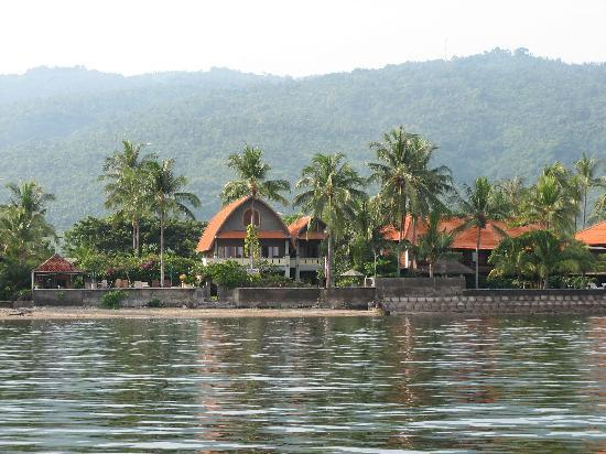 Cleopatra Beach Bungalows : Hotelview from the sea