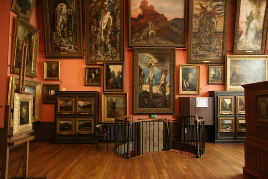 Musee Gustave Moreau : 2nd floor(top)