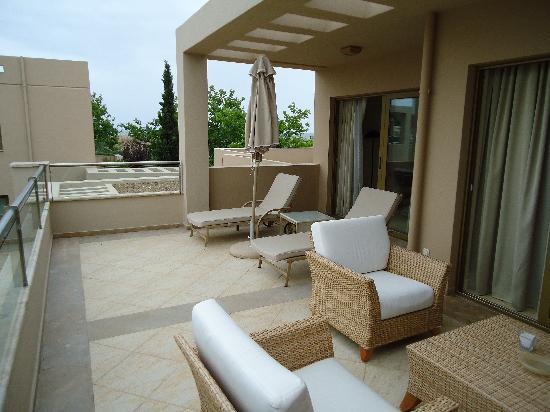 Sani Asterias: Our Terrace