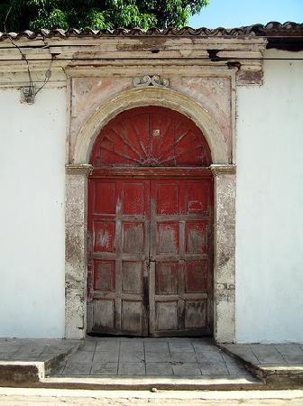 Superieur La Posada De Suchitlan: Colonial Door In Suchitoto