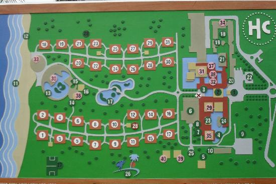 mapa hotel mapa del hotel   Picture of Catalonia Bavaro Beach, Casino & Golf  mapa hotel