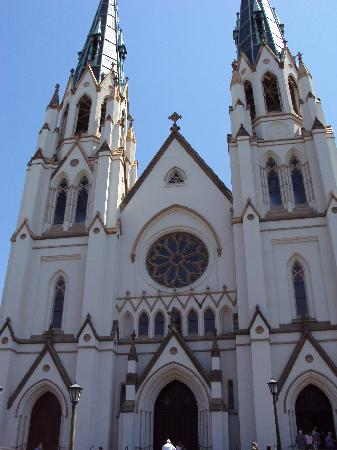 Bonnie Blue Walking Tours of Savannah: Cathedral of St. John the Baptist