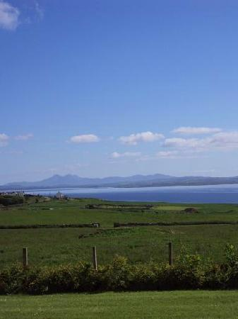 Octofad Farm: Stunning view from the B&B